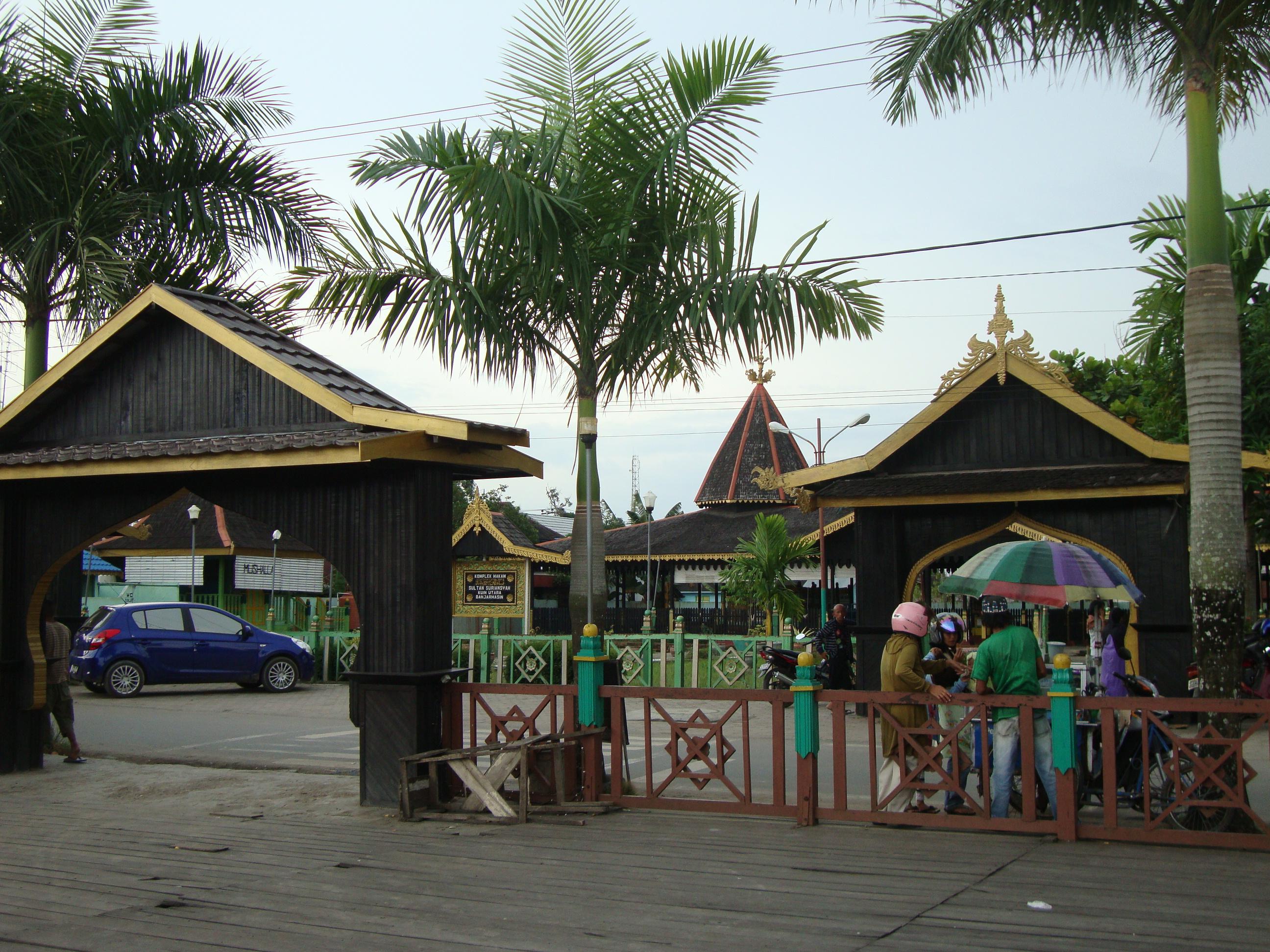 Kampung Kuin Bubuhan Banjar Komplek Makam Sultan Suriansyah Masjid Kab