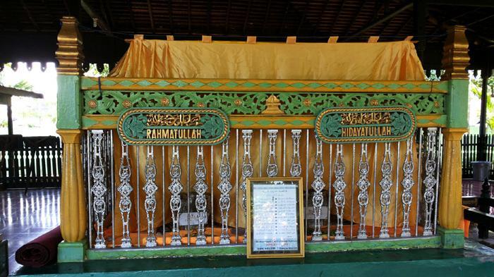 Khasiat Misteri Anak Jatuh Sumur Sultan Suriansyah Makam Jalan Pangeran