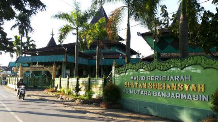 Khasiat Misteri Anak Jatuh Sumur Sultan Suriansyah Masjid Jalan Pangeran