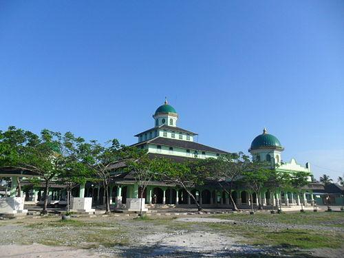 Kota Banjarmasin Wikiwand Masjid Jami Bersejarah Memiliki Bentuk Perpaduan Arsitektur