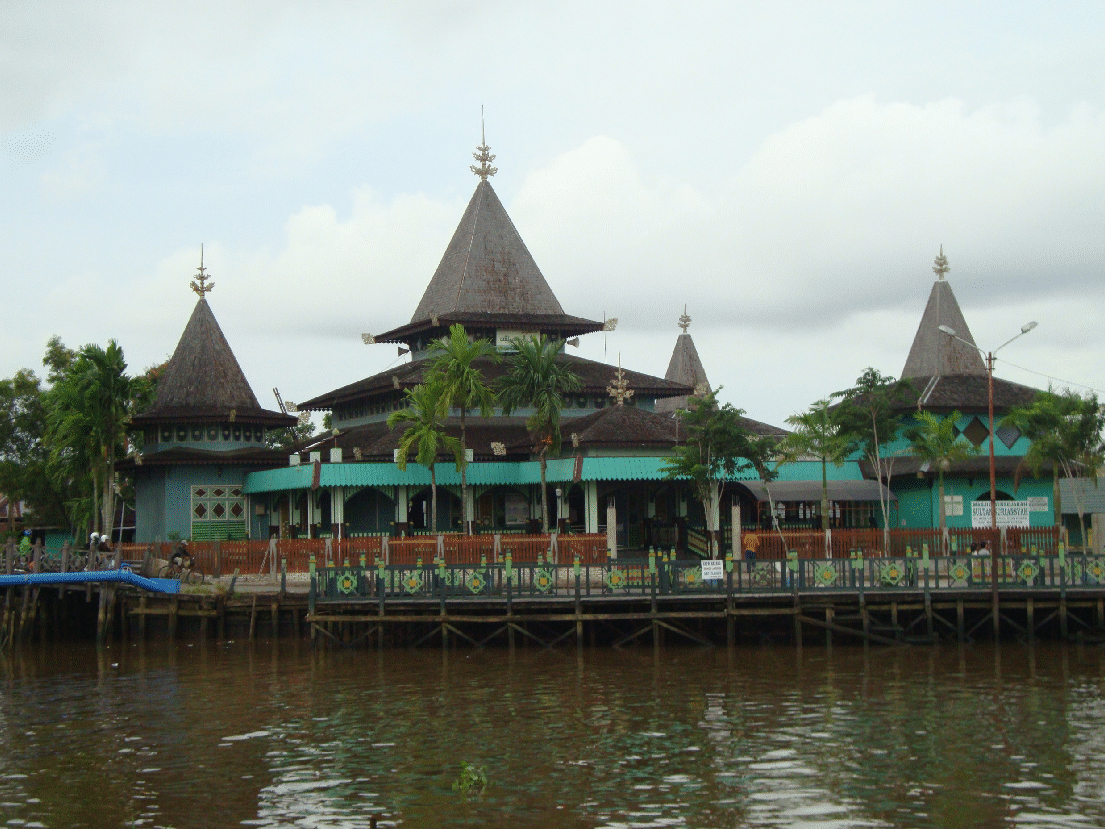 Masjid Sultan Suriansyah Balai Pelestarian Cagar Budaya Kalimantan Kab Banjarmasin