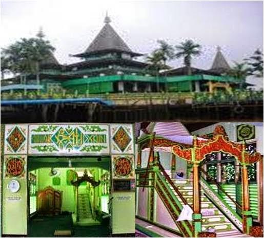 Masjid Sultan Suriansyah Banjarmasin Kalimantan Selatan Info Kab