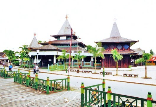 Masjid Sultan Suriansyah Banjarmasin Kalsel Rumah Alloh Kab