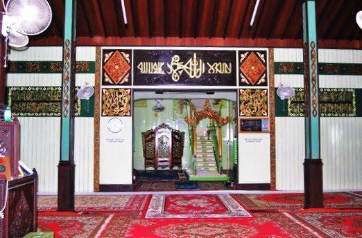 Masjid Sultan Suriansyah Banjarmasin Kalsel Rumah Alloh Usia Kab