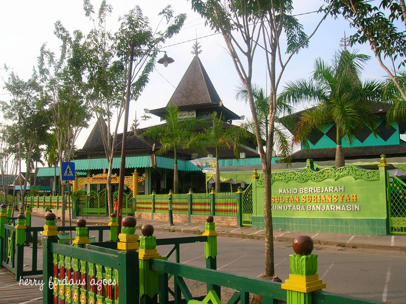 Masjid Sultan Suriansyah Bumi Nusantara Kab Banjarmasin
