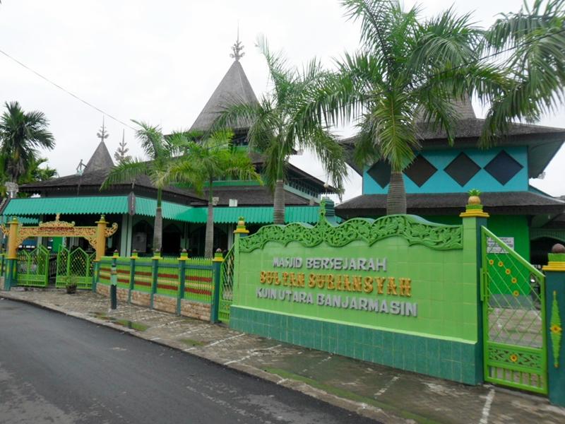 Masjid Sultan Suriansyah Jejak Penyebaran Islam Tanah Banjar Kab Banjarmasin