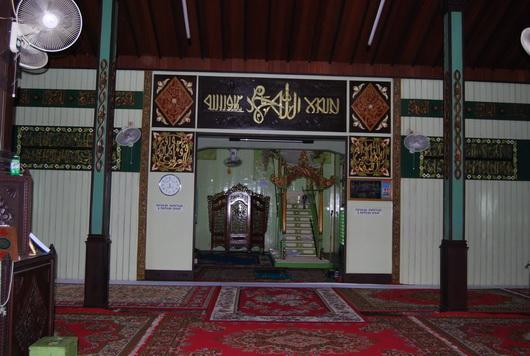 Masjid Sultan Suriansyah Tawakkal Lintas Angkasa Walaupun Tidak Terlalu Besar