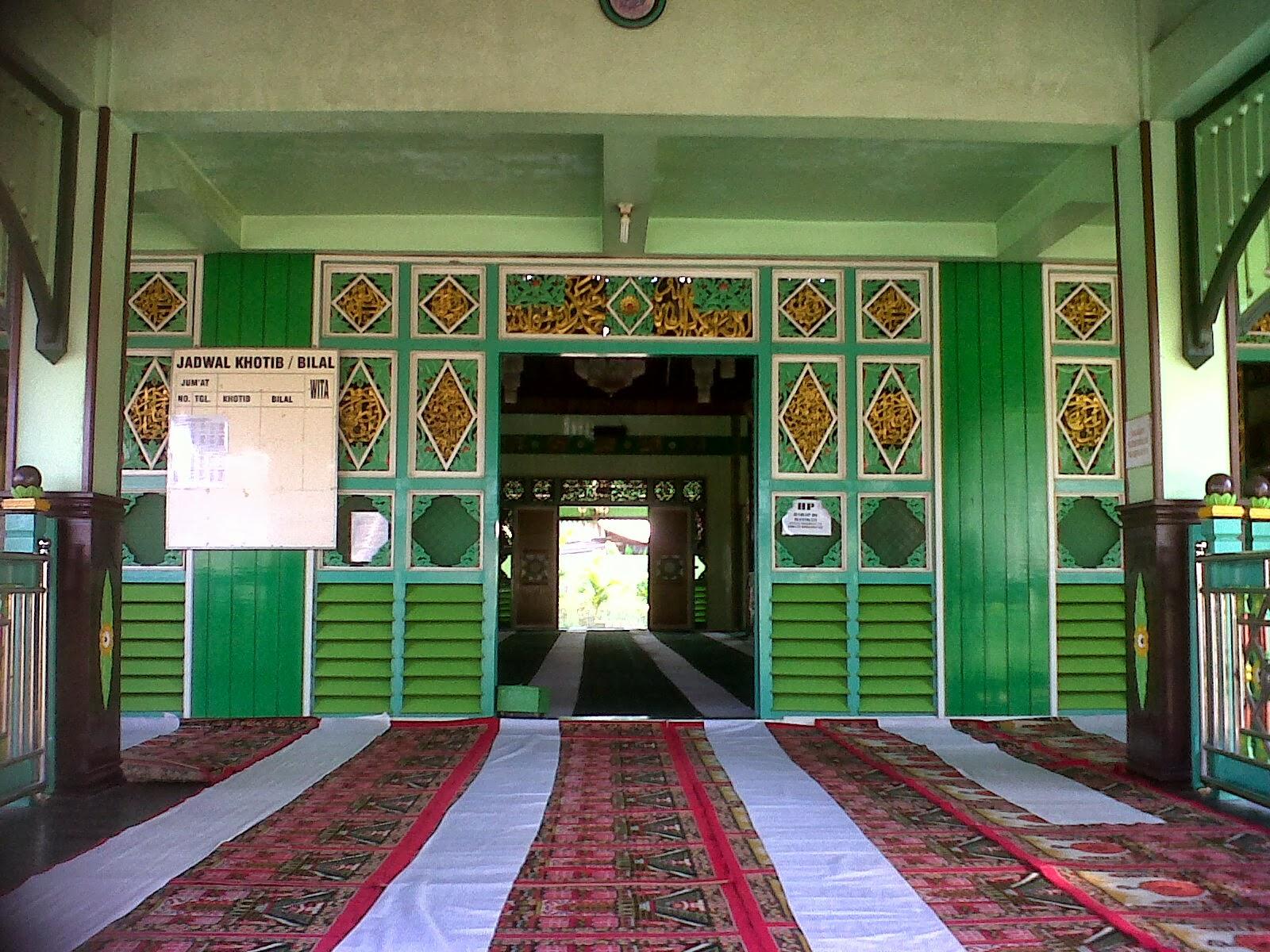 Wildan Sari Masjid Sultan Suriansyah Bentuk Bangunan Pertama Didirikan Kota