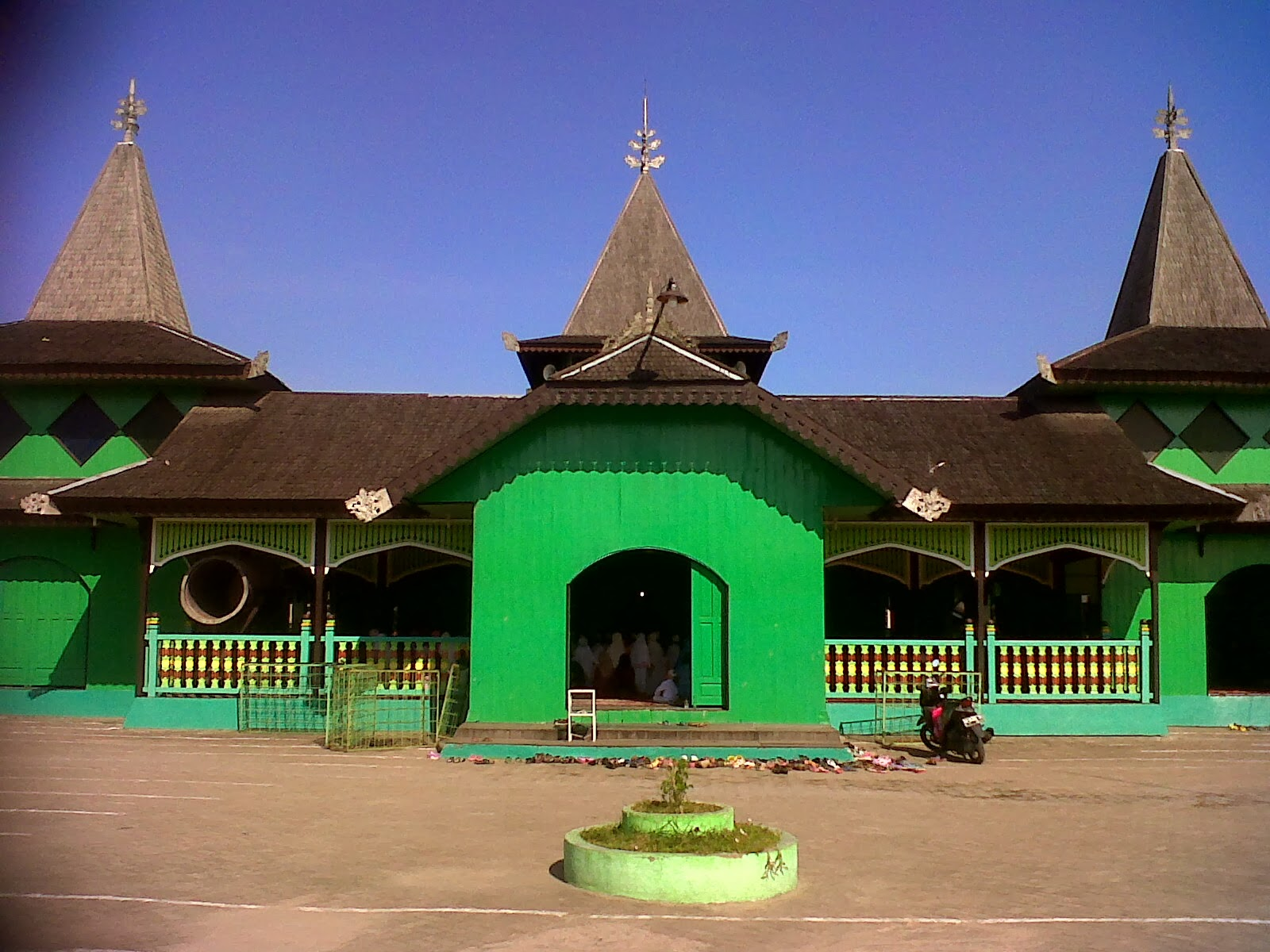 Wildan Sari Masjid Sultan Suriansyah Kab Banjarmasin