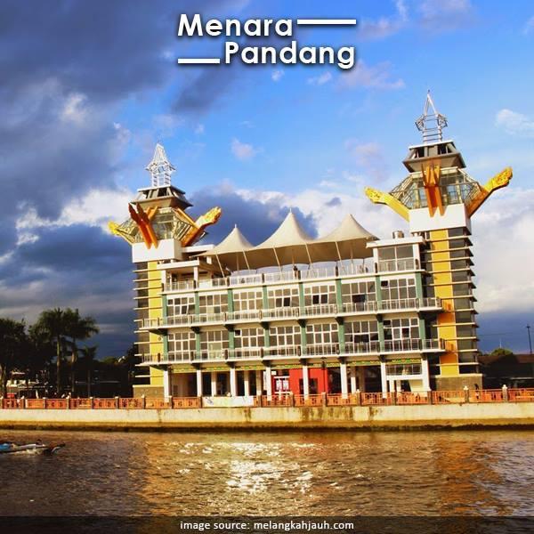 Berkunjung Banjarmasin Kota Seribu Sungai Jadi Wisata Menara Pandang Image