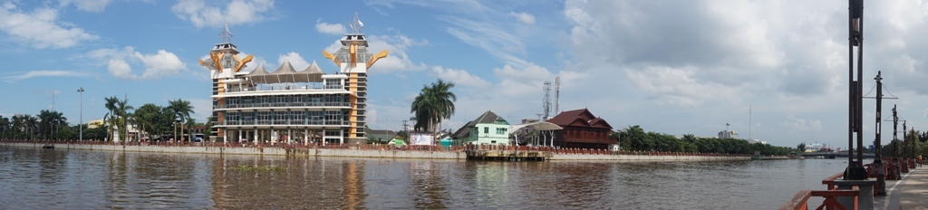 Borneo Picture Moment Salah Satu Rumah Tradisional Banjar Arsitektur Kayu