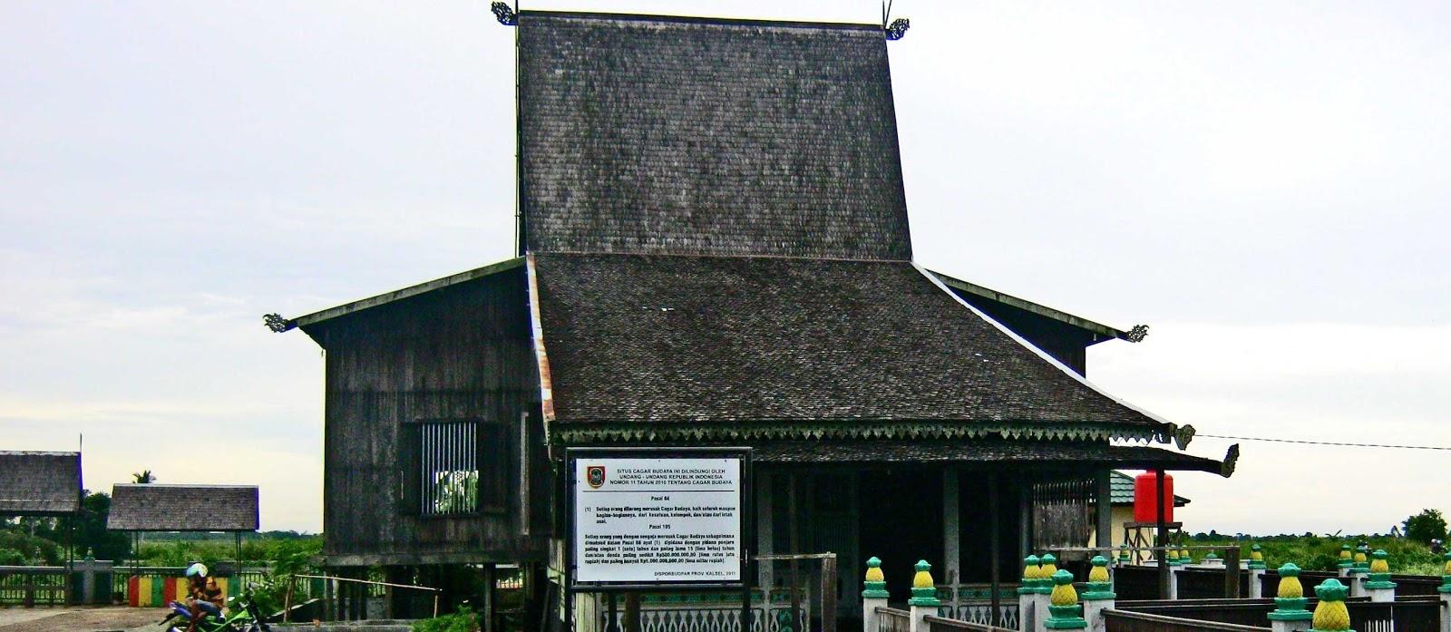 A Aa Live Oung July 2013 Rumah Adat Banjar Museum