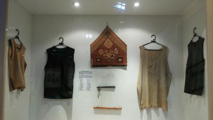 Barajah Baju Kebal Warga Banjar Dipamerkan Museum Wasaka Banjarmasin Kab