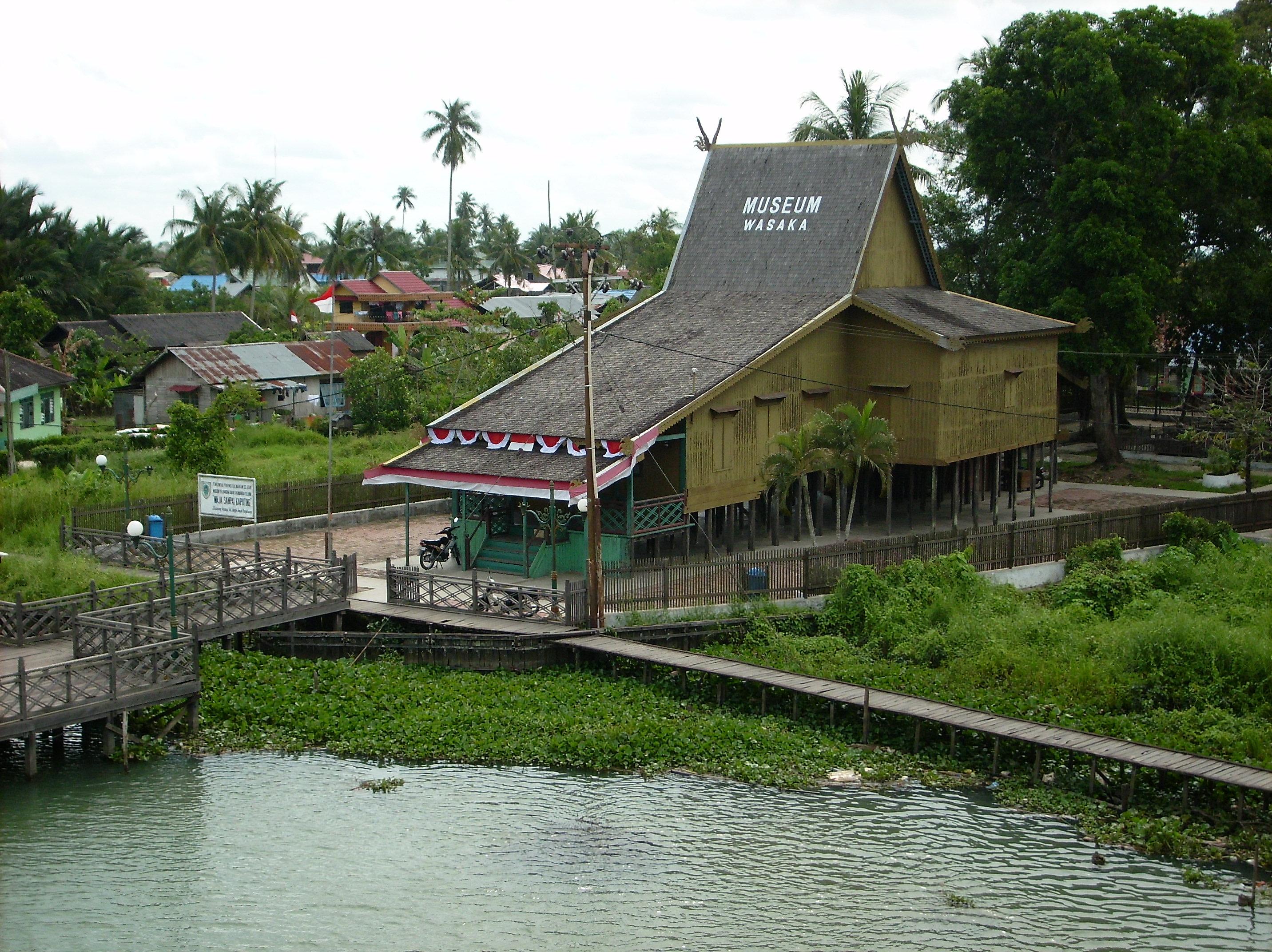 Lintas Kalimantan Selatan Sejarah Pemerintahan Museum Wasaka Kab Banjarmasin