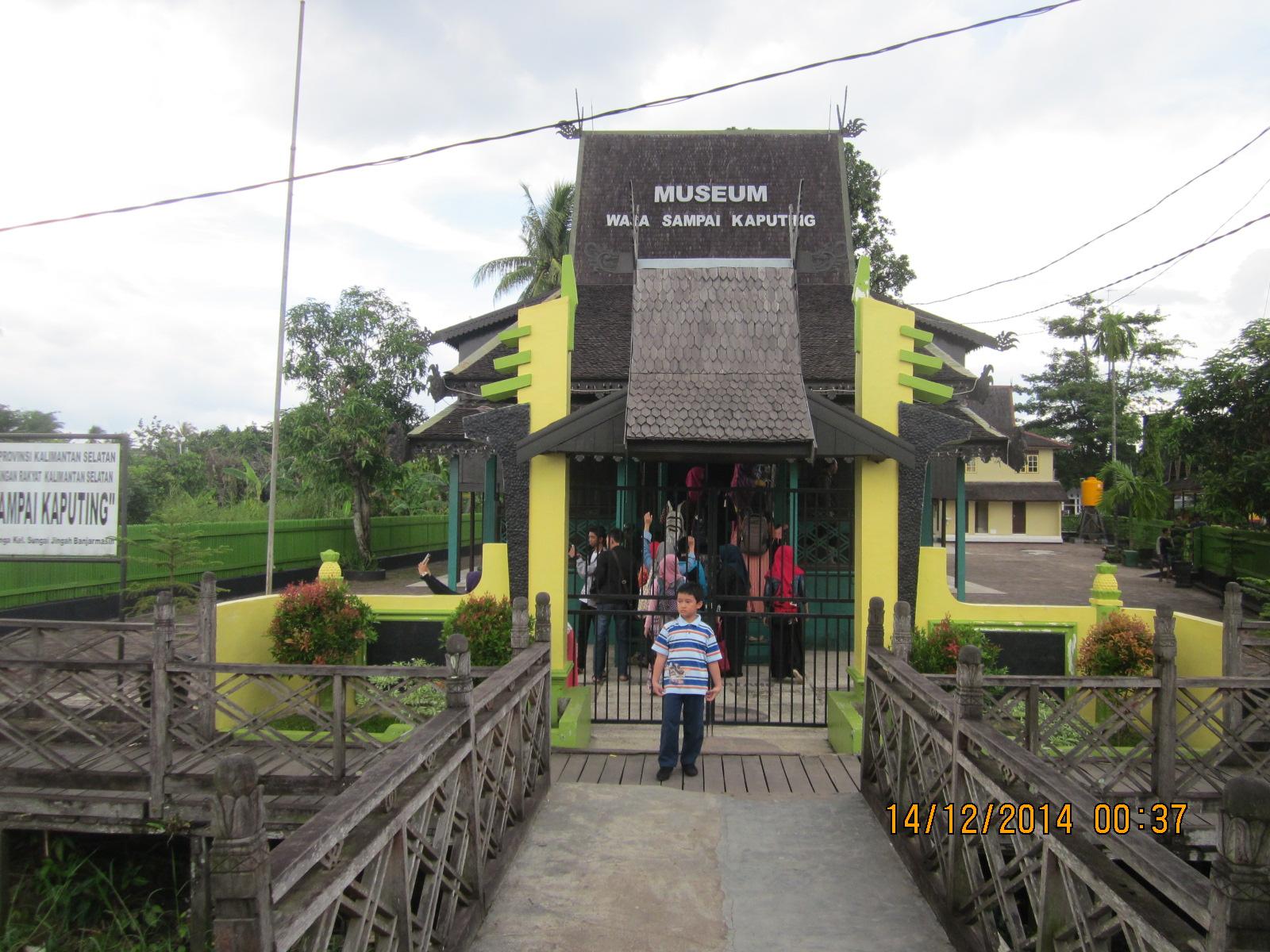 Menapaki Jejak Kejayaan Kota Seribu Sungai Museum Wasaka Sisi Bangunan