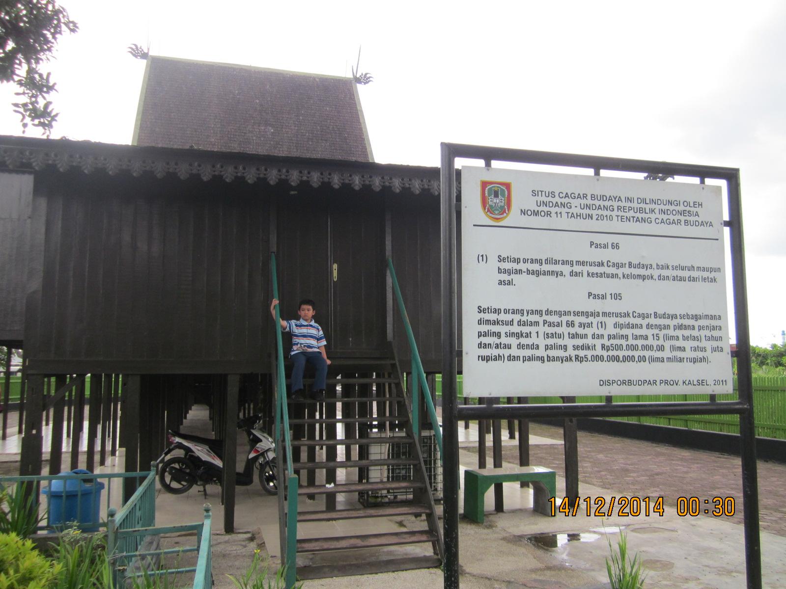 Menapaki Jejak Kejayaan Kota Seribu Sungai Museum Wasaka Terletak Tak