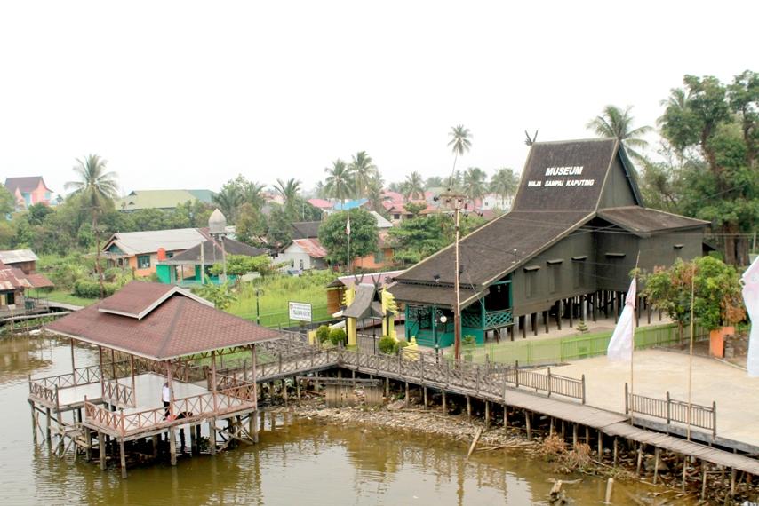 Museum Kalimantan Selatan Banjarmasin Culture Wasaka Terletak Gang Andir Kampung