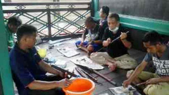 Pusaka Pejuang Museum Wasaka Rutin Dibersihkan Sederhana Ritual Kab Banjarmasin