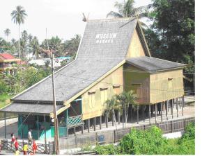 Taman Miniatur Rumah Banjar Bubuhan Museum Wasaka Kab Banjarmasin