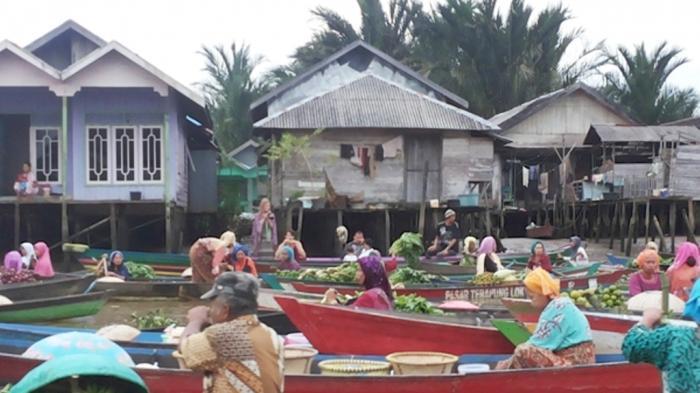 Bupati Banjar Janji Membina Pedagang Pasar Terapung Bagaimana Anggaran Kegiatan