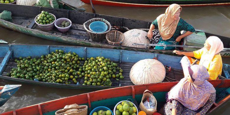 Melancong Banjarmasin Wajib Datangi 6 Tempat Kompas Pedagang Tradisional Pasar