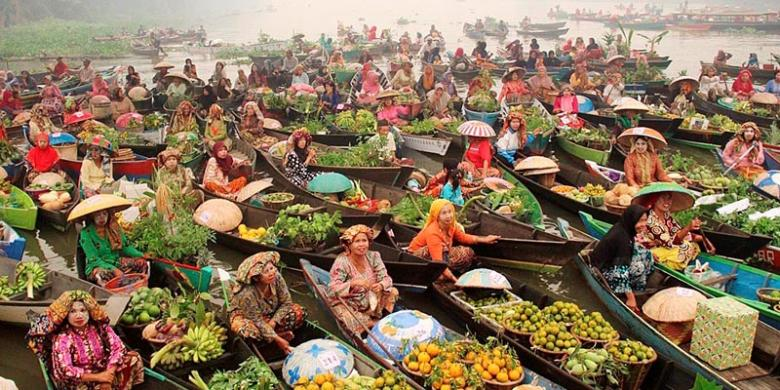 Promosi Wisata Sungai Martapura Halaman 1 Kompas Pasar Terapung Lok