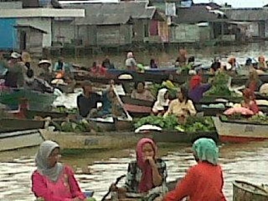 Ps Terapung Lokbaintan Kab Banjar Picture Pasar Lok Baintan Banjarmasin