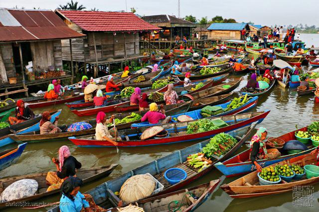 Selamat Datang Smpn 2 Kumai Blog Pasar Terapung Lok Baintan