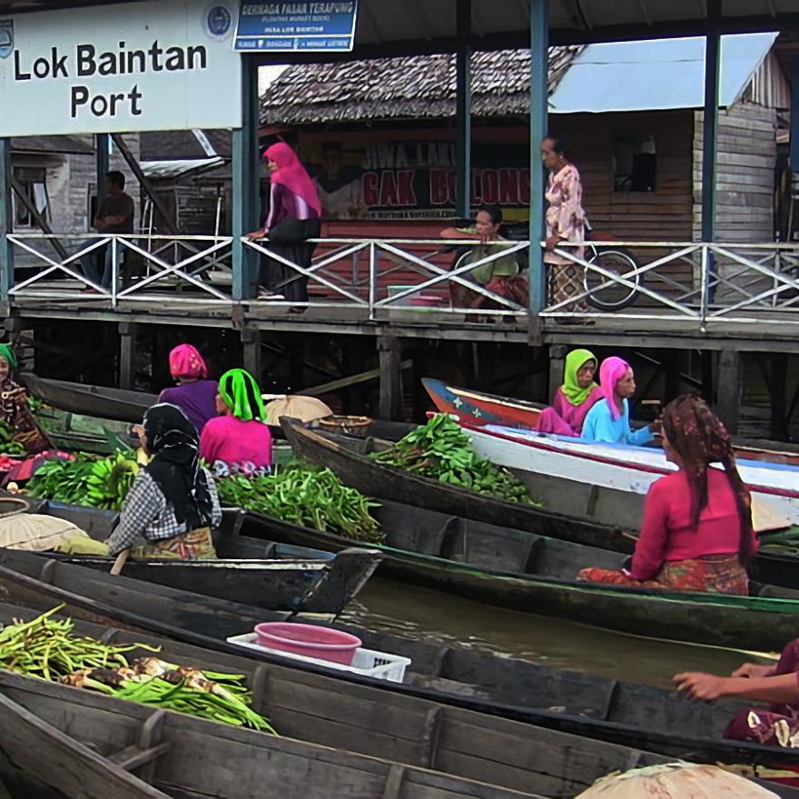 Website Resmi Desa Lok Baintan Artikel 101 Pasar Terapung Sebuah