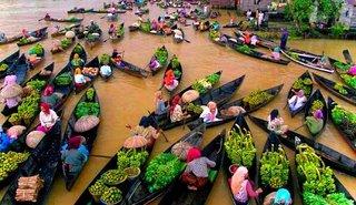 Wisata Pasar Terapung Lok Baintan Sungai Martapura Kabar Paman Anum
