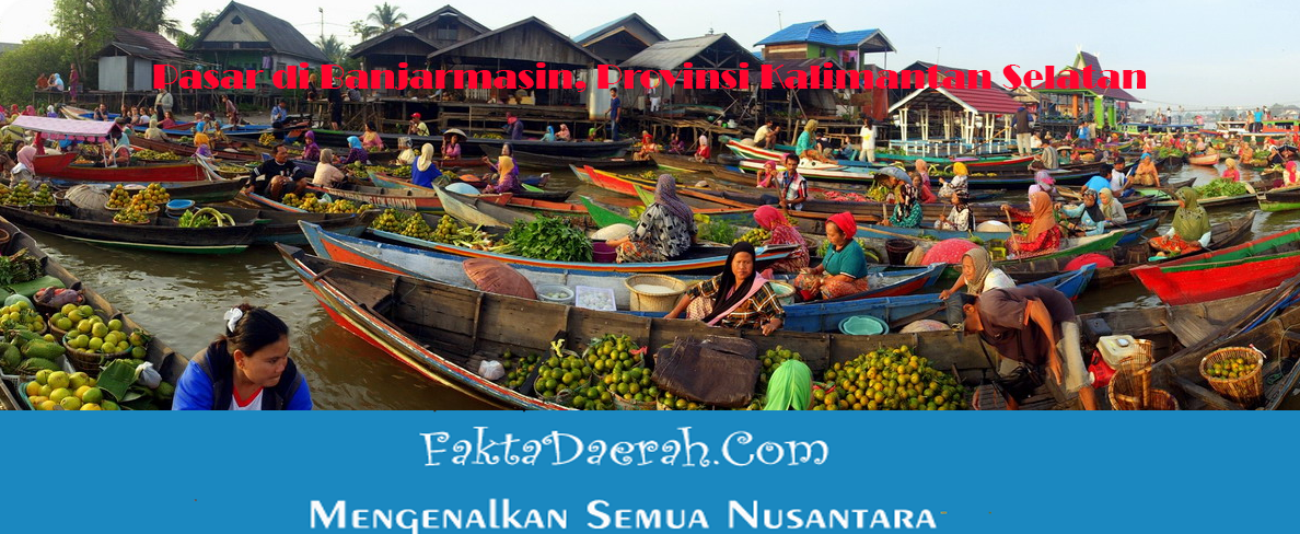 4 Pasar Banjarmasin Kalimantan Selatan Kamu Ketahui Terapung Siring Kab