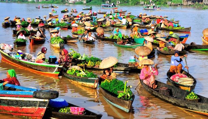 5 Fakta Pasar Terapung Banjarmasin Nggak Kalah Thailand Monday 21