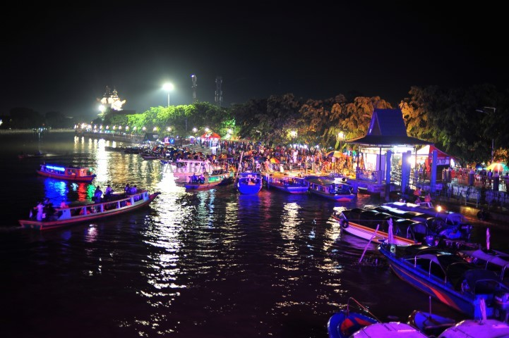 Kerenn Panggung Mtq Xii Nanti Bakal Dibangun Mengapung Sungai Pasar