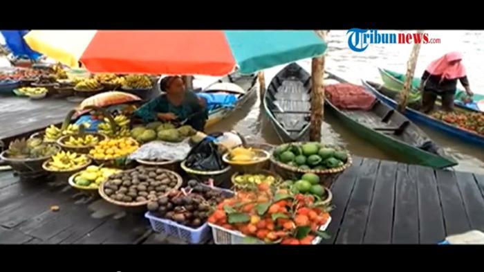Newsvideo Pesona Pasar Terapung Siring Tendean Banjarmasin Tribunnews Kab
