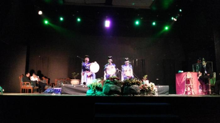Balamut Taman Budaya Banjarmasin Post Kalimantan Selatan Kab