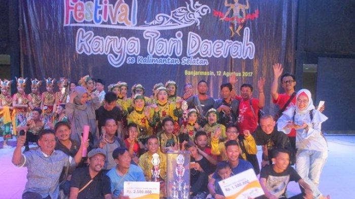Inilah Pemenang Festival Tari Daerah Se Kalsel Banjarmasin Post Taman