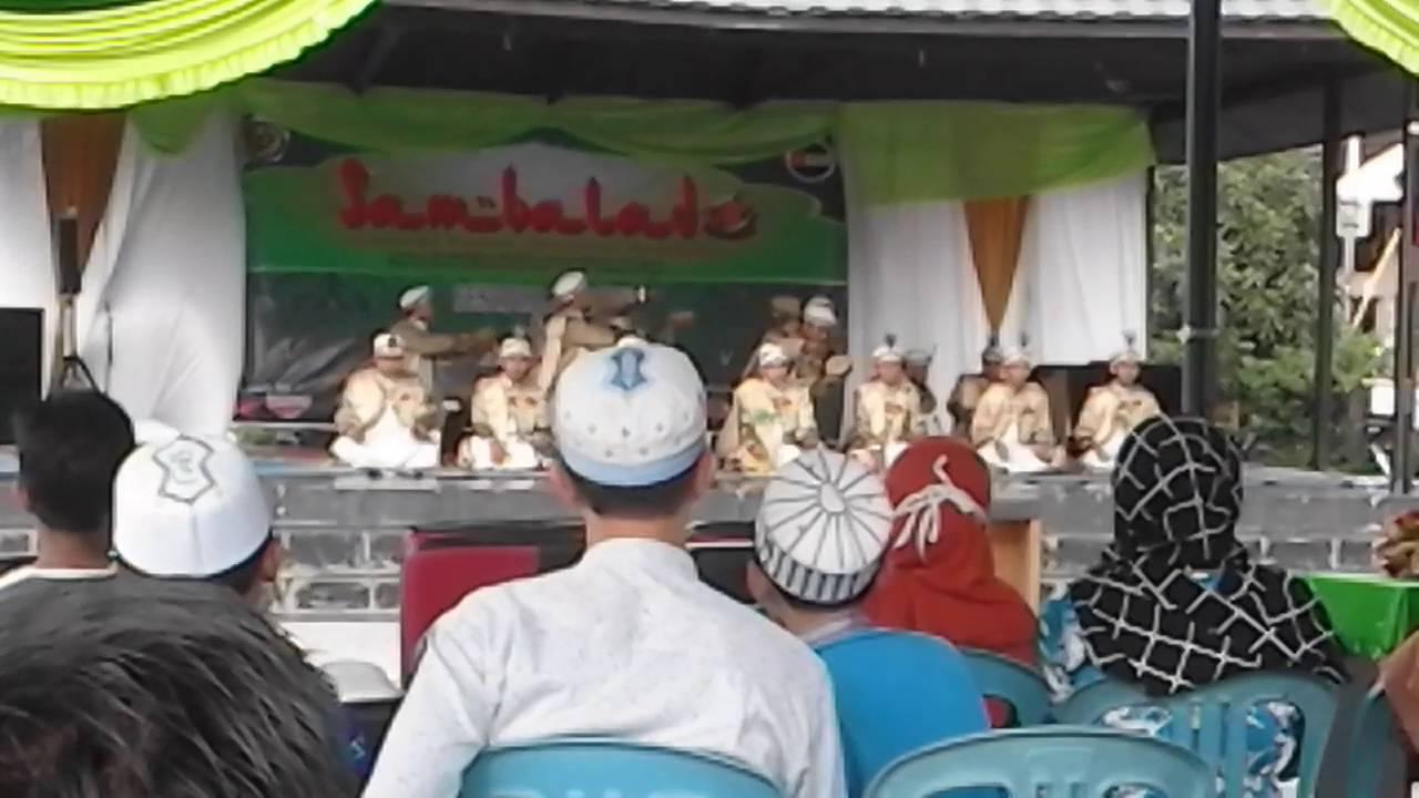 Jami Ul Musthofa Festival Syair Maulid Taman Budaya Banjarmasin 2016