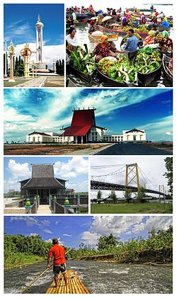 Kalimantan Selatan Wikipedia Bahasa Indonesia Ensiklopedia Bebas Taman Budaya Kab