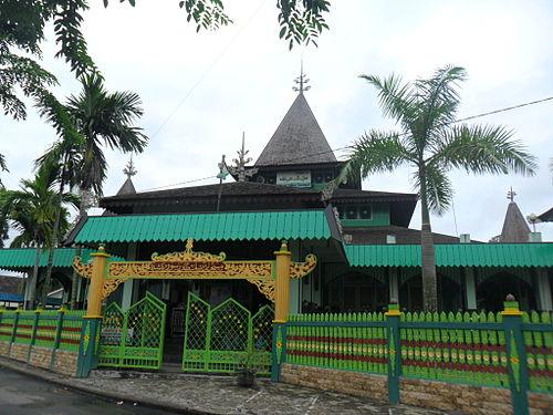 Kalimantan Selatan Wikiwand Masjid Sultan Suriansyah Tertua Memiliki Bentuk Arsitektur
