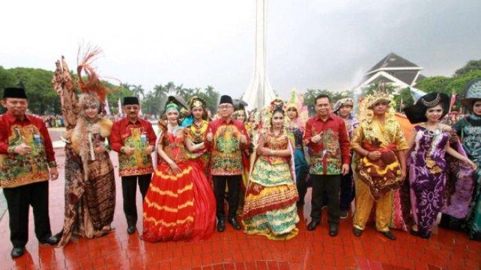 Ketua Mpr Ri Zulkifli Hasan Sebut Sasirangan Keren Banjarmasin Post