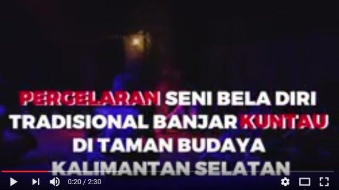 Penonton Ngakak Tegang Tonton Pendekar Kuntau Banjar Taman Budaya Kalsel