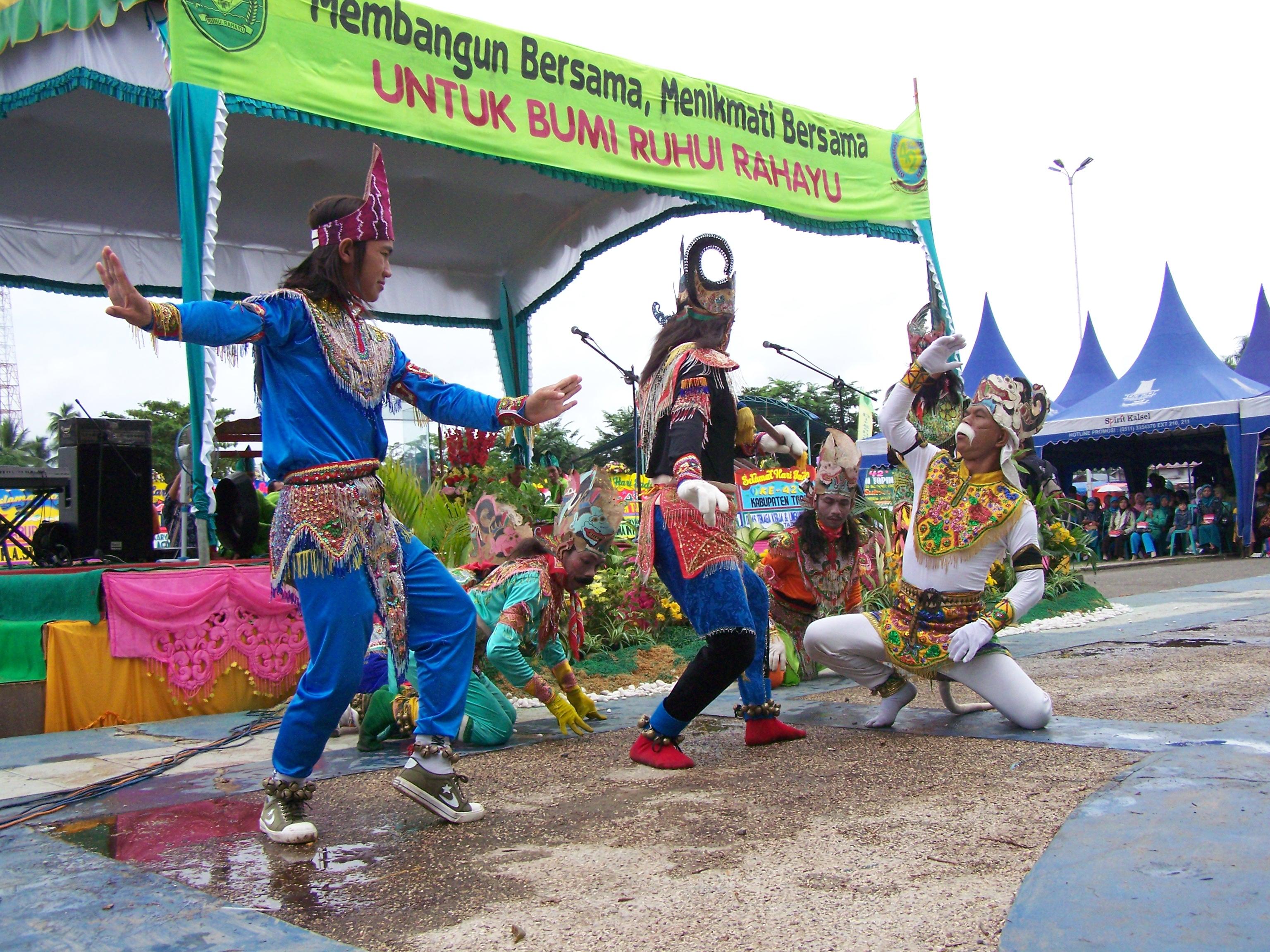 Seni Banjar Kabar Paman Anum Wayang Taman Budaya Kalimantan Selatan