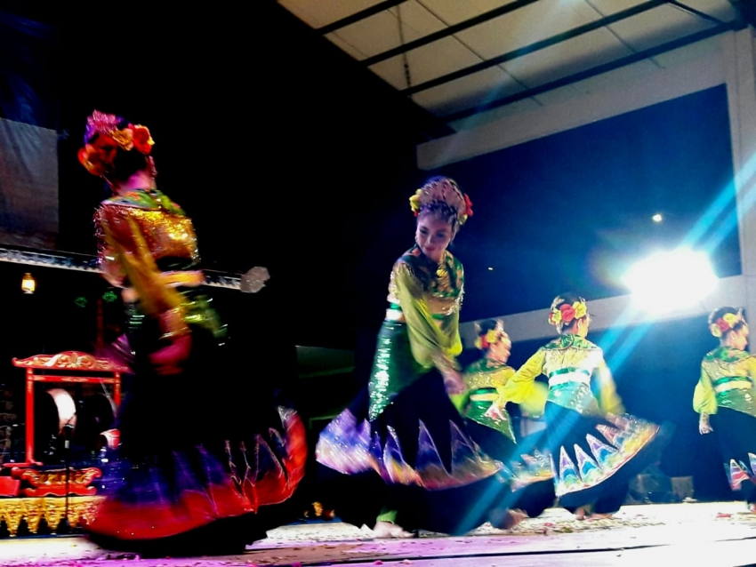 Taman Budaya Kalsel Gelar Seni Banua Penampilan Sanggar Perpekindo Banjarmasin