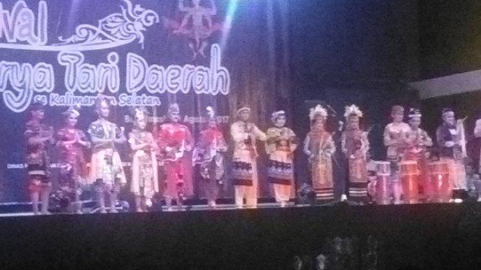 Tujuh Grup Tari Enam Kabupaten Kota Ikuti Festival Daerah Taman