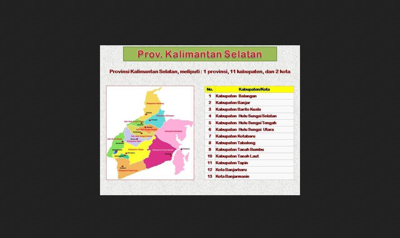 Akankah Mimpi Kalimantan Selatan Jadi Ibu Kota Negara Republik Kita
