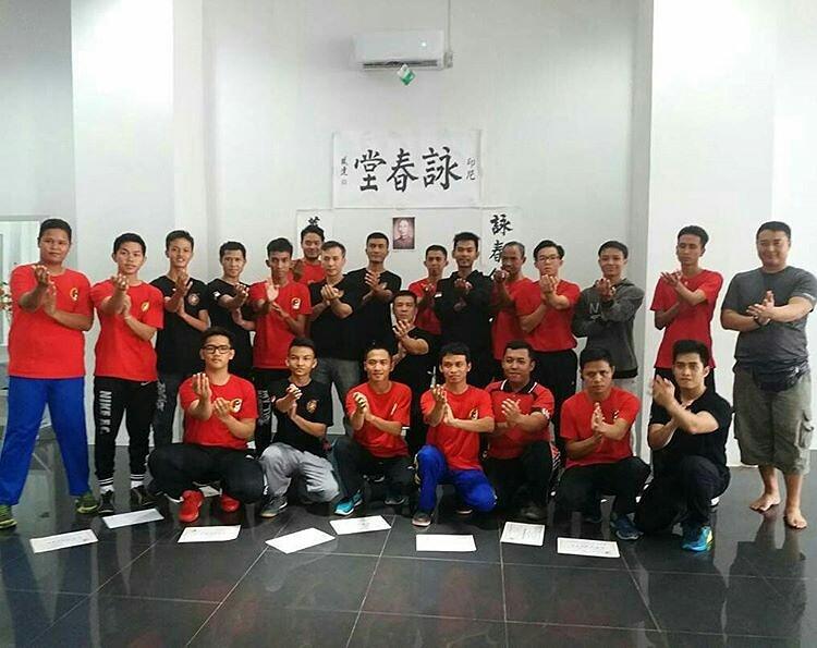 Authentic Wing Chun Ip Man Indonesia Ditulis Kegiatan Taman Kamboja