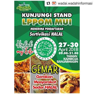 Bankkalsel Browse Images Instagram Imgrum Kunjungi Stand Booth Lppom Mui