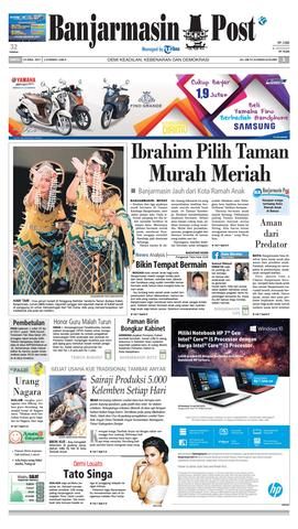 Bp20170429 Banjarmasin Post Issuu Page 1 Taman Kamboja Kab