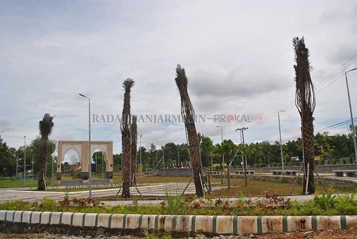 Dibuka Taman Syariah Banjarbaru Rampung Ruang Terbuka Hijau Berlokasi Jalan