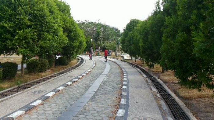 Inilah Tempat Bersantai Favorit Warga Banjarmasin Post Taman Kamboja Kab